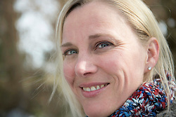 Portrait of woman smiling, close up, Bavaria, Germany
