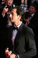 Actor Adrien Brody at the 'Behind The Candelabra' gala screening at the Cannes Film Festival  Tuesday 21 May 2013
