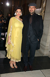KELLY BROOK and BILLY ZANE at the British Fashion Awards 2006 sponsored by Swarovski held at the V&A Museum, Cromwell Road, London SW7 on 2nd November 2006.<br /><br />NON EXCLUSIVE - WORLD RIGHTS