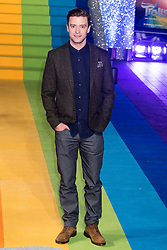 © Licensed to London News Pictures. 29/09/2016. JUSTIN TIMBERLAKE arrives for the lighting of The London Eye to celebrate the animation film Trolls. London, UK. Photo credit: Ray Tang/LNP