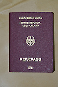 German passport cutout