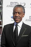 June 30, 2012-Los Angeles, CA : Rev. Al Sharpton, President, National Action Network attends the 2012 BET Awards held at the Shrine Auditorium on July 1, 2012 in Los Angeles. The BET Awards were established in 2001 by the Black Entertainment Television network to celebrate African Americans and other minorities in music, acting, sports, and other fields of entertainment over the past year. The awards are presented annually, and they are broadcast live on BET. (Photo by Terrence Jennings)