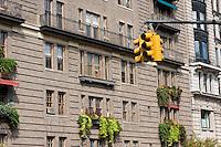traffic light - New York City in October 2008