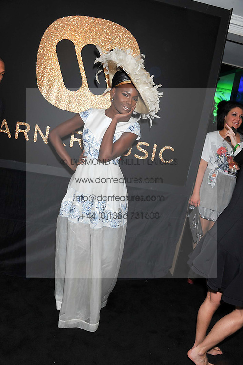 SHINGAI SHONIWA at the Warner Music Group Post Brit Awards Party in Association with Samsung held at The Savoy, London on 20th February 2013.