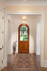 1925 Virginia Ave, JK development house Hallway foyer entrance archway