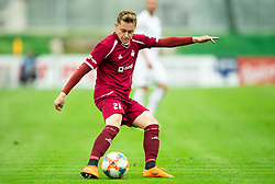 Žan Rogelj of Triglav during Football match between NK Triglav and NK Rudar in 27th Round of Prva liga Telekom Slovenije 2018/19, on April 13, 2019, in Sports centre Kranj, Slovenia. Photo by Vid Ponikvar / Sportida