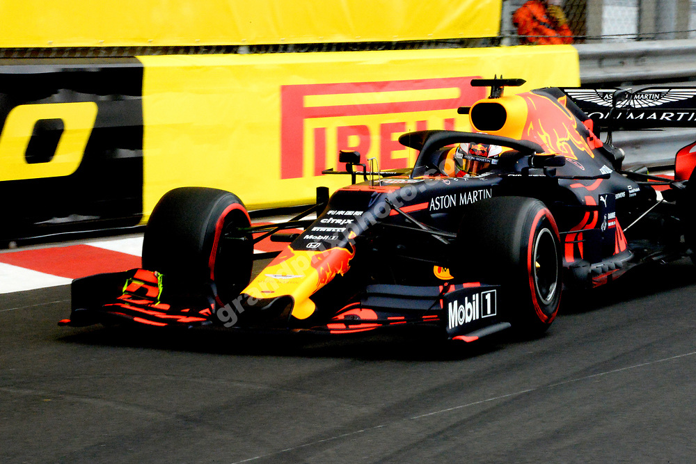 Daniel Ricciardo (Red Bull-Honda) during practice before the 2019 Monaco Grand Prix. Photo: Grand Prix Photo