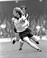 Fotball<br /> England <br /> Foto: Colorsport/Digitalsport<br /> NORWAY ONLY<br /> <br /> Willie Carr - Coventry City. Coventry City v Newcastle United 16/9/72