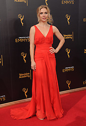 Rhea Seehorn bei den Creative Arts Emmy Awards in Los Angeles / 100916<br /> <br /> <br /> *** at the Creative Arts Emmy Awards in Los Angeles on September 10, 2016 ***