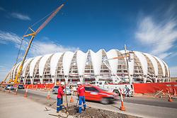 Vista externa do Beira Rio em 31 de fevereiro de 2014. O Estádio Beira Rio, que receberá jogos da Copa do Mundo de Futebol 2014, tem mais 97% da sua reforma concluída e re-inauguração agendada para 04 de abril de 2014. FOTO: Jefferson Bernardes/ Agência Preview