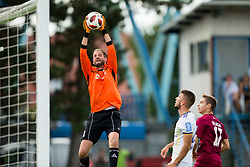 Darjan Curanović of Triglav during football match between NK Triglav Kranj and NK Maribor in Round #7 of Prva liga Telekom Slovenije 2018/19, on September 2, 2018 in Kranj, Slovenia. Photo by Vid Ponikvar / Sportida
