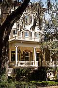 Historic home in Savannah, Georgia, USA.