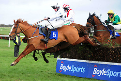 All The Chimneys and jockey David Mullins win the Join Us Here Again February 21st Handicap Chase at Thurles Racecourse.