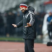 Besiktas's coach Slaven Bilic during their Turkish superleague soccer match Besiktas between Galatasaray at Ataturk Olimpiyat Stadium in Istanbul Turkey on Sunday 04 January 2015. Photo by Aykut AKICI/TURKPIX