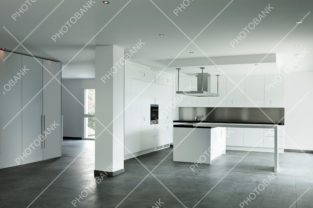 new apartment, kitchen view