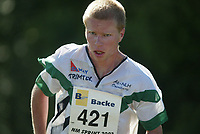 Orientering, 21. juni 2002. NM sprint. Ivar Haugen, Ås.