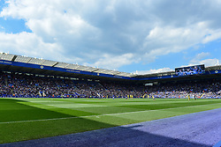 May 12, 2019 - Leicester, England, United Kingdom - Full house during the Premier League match between Leicester City and Chelsea at the King Power Stadium, Leicester on Sunday 12th May 2019. (Credit Image: © Mi News/NurPhoto via ZUMA Press)