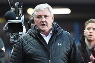 Aston Villa manager Steve Bruce during the EFL Sky Bet Championship match between Aston Villa and Leeds United at Villa Park, Birmingham, England on 13 April 2018. Picture by Alan Franklin.