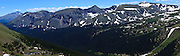 USA, Colorado, Rocky Mountain National Park, Long's Peak from Trail Ridge Road