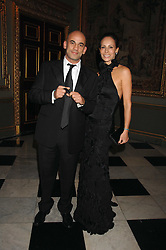 GUY & ANDREA DELLAL at the Ark 2007 charity gala at Marlborough House, Pall Mall, London SW1 on 11th May 2007.<br /><br />NON EXCLUSIVE - WORLD RIGHTS