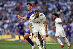 March 16, 2019 - Madrid, Madrid, Spain - Real Madrid CF's Karim Benzema seen reacting during the Spanish La Liga match round 28 between Real Madrid and RC Celta Vigo at the Santiago Bernabeu Stadium in Madrid. (Credit Image: © Manu Reino/SOPA Images via ZUMA Wire)