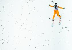 Nika Kriznar of Slovenia during 2nd Round at Day 1 of World Cup Ski Jumping Ladies Ljubno 2019, on February 8, 2019 in Ljubno ob Savinji, Slovenia. Photo by Matic Ritonja / Sportida