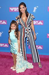 August 21, 2018 - New York City, New York, USA - 8/20/18.Farrah Abraham and Sophie Abraham at the 2018 MTV Video Music Awards at Radio City Music Hall in New York City. (Credit Image: © Starmax/Newscom via ZUMA Press)