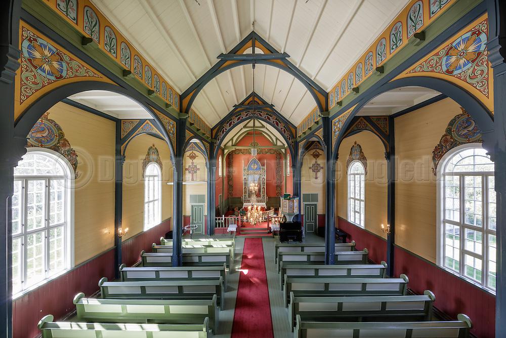 Kirkerom Indre Herøy Kirke.