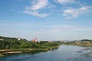 Lithuania, Kaunas overview Neris river