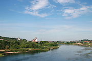 Lithuania, Kaunas overview Neris river