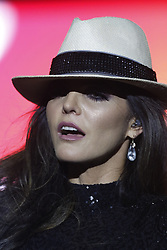 ANAHEIM, CA - MAY 12: Ana Barbara performs on stage during her concert at the M3 Live in Anaheim, California on May 12, 2018.  Byline, credit, TV usage, web usage or linkback must read SILVEXPHOTO.COM. Failure to byline correctly will incur double the agreed fee. Tel: +1 714 504 6870.