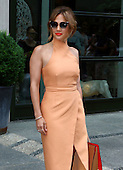Jennifer Lopez arrives at hotel in New York