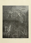 The night of Louis' Death Aug 25 1270 Plate LXXXIV from the book Story of the crusades. with a magnificent gallery of one hundred full-page engravings by the world-renowned artist, Gustave Doré [Gustave Dore] by Boyd, James P. (James Penny), 1836-1910. Published in Philadelphia 1892