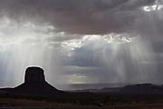 Storm in Monument Valley, Navajo Tribal Park, Utah-Arizona border