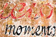 Weathered wall in Vinales, Pinar del Rio, Cuba.