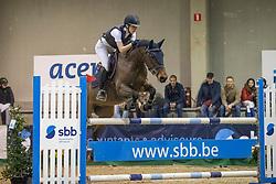 Braspenning Merel, BEL, Parco Van't Hollandhof<br /> Nationaall Indoor Ponies LRV  Oud Heverlee 2020<br /> © Hippo Foto - Dirk Caremans<br /> 07/03/2020