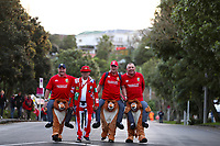 Rugby Union - 2017 British & Irish Lions Tour of New Zealand - First Test: New Zealand vs. British & Irish Lions<br /> <br /> Fans before the first test at Eden Park, Auckland.<br /> <br /> COLORSPORT/LYNNE CAMERON