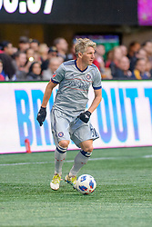 October 21, 2018 - Atlanta, GA, U.S. - ATLANTA, GA - OCTOBER 21: Chicago Fire midfielder Bastian Schweinsteiger (31) during the MLS game between the Atlanta United and the Chicago Fire on October 21, 2018 at the Mercedes-Benz Stadium in Atlanta, GA. Atlanta United FC secured a place in next year's CONCACAF Champions League with a 2-1 victory against the visiting Chicago Fire. (Photo by John Adams/Icon Sportswire) (Credit Image: © John Adams/Icon SMI via ZUMA Press)