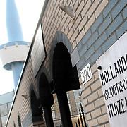 NLD/Huizen/20070326 - Brandstichting bij moskee Gooierserf Huizen