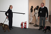 DOGS SNIFFING FOR EXPLOSIVES, Frieze, 3 October 2018