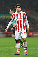 Bojan Krkic of Stoke City looks on. Premier league match, Stoke City v Leicester City at the Bet365 Stadium in Stoke on Trent, Staffs on Saturday 17th December 2016.<br /> pic by Chris Stading, Andrew Orchard sports photography.