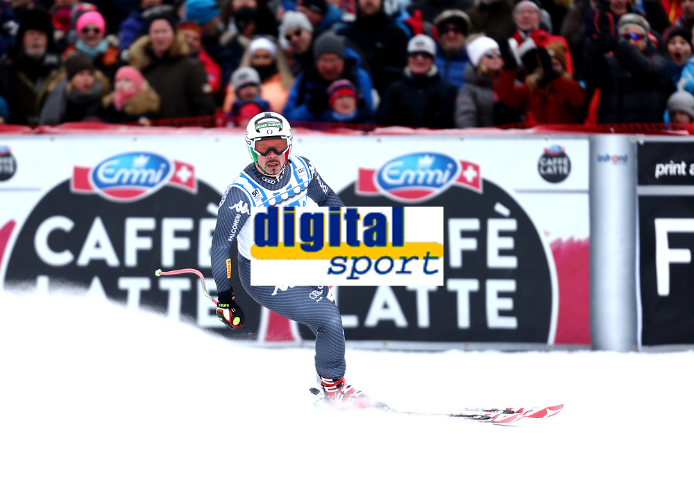 Ski , Audi FIS  SKI , World Cup , 2016/17<br /> Men´s DownHill<br /> Kvitfjell (NOR)<br /> 25.02.17<br /> Foto : Dagfinn Limoseth , Digitalsport<br /> Peter Fill , ITA
