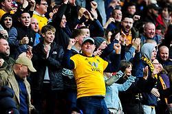 Wolverhampton Wanderers celebrate after Ivan Cavaleiro of Wolverhampton Wanderers scores the opening goal - Mandatory by-line: Ryan Hiscott/JMP - 17/02/2019 - FOOTBALL - Ashton Gate Stadium - Bristol, England - Bristol City v Wolverhampton Wanderers - Emirates FA Cup fifth round proper