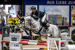 KLAESENER Christopher (GER), Cornet's Spirit<br /> Grand Prix von Volkswagen<br /> Int. jumping competition over two rounds (1.55 m) - CSI3*<br /> Comp. counts for the LONGINES Rankings<br /> Braunschweig - Classico 2020<br /> 08. März 2020<br /> © www.sportfotos-lafrentz.de/Stefan Lafrentz