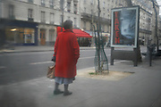 Friday February 22nd 2008. .Paris, France .In a cafe.Boulevard de la Tour Maubourg - 7th Arrondissement..