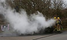 Car Fire Arreton