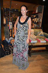 Illustrator ELLIE VANDOORNE at a party to celebrate the launch of Matthew Williamson: Fashion, Print and Colouring Book held at Anthropologie, 158 Regent Street, London on 8th September 2016.