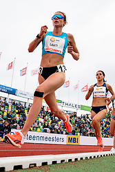 Sarah Lahti of Sweden in action on the 10000 meter during FBK Games 2021 on 06 june 2021 in Hengelo.