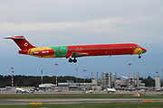 OY-RUE Danish Air Transport (DAT) McDonnell Douglas MD-83 (DC-9-83)  at Malpensa (MXP / LIMC), Milan, Italy