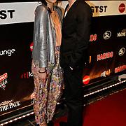 NLD/Amsterdam/20100304 - Premiere 4000ste aflevering Goede Tijden Slechte Tijden, Emiel Sandtke en partner Olga